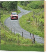 Car 88 Donegal International Rally Wood Print