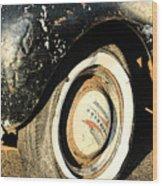 Car Alfresco II Wood Print