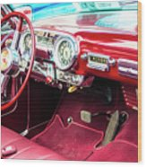 Car Show 17 Wood Print