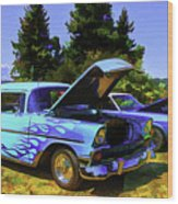 Car Show Series #2 Wood Print