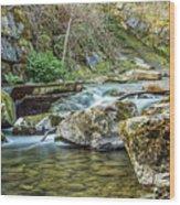 Caradocs Falls 1 Wood Print
