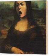 Caravaggio's Mona Wood Print