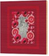 Carazon2 By Beth Valory And Julia Woodman Wood Print