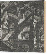 Carceri Series, Plate Xiv Wood Print