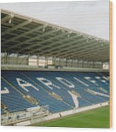 Cardiff - City Stadium - East Stand 1 - July 2010 Wood Print