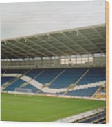 Cardiff - City Stadium - South Stand 1 - July 2010 Wood Print