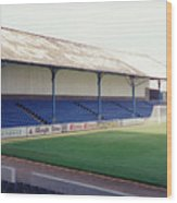 Cardiff - Ninian Park - North Stand 2 - August 1993 Wood Print