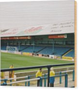 Cardiff - Ninian Park - North Stand 3 - October 2004 Wood Print