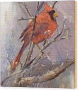 Cardinal - Male Wood Print