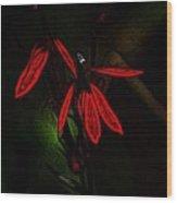 Cardinal  Plant Woodcut Wood Print
