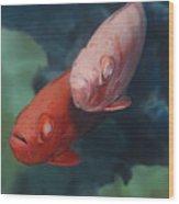Cardinalfishes Wood Print