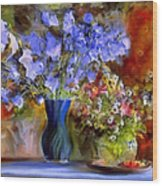 Caress Of Spring - Impressionism Wood Print