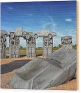 Carhenge Wood Print