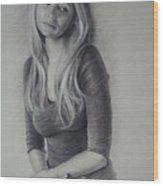 Cari Wood Print