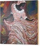 Caribbean Dancer Wood Print