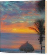 Caribbean Dreams Wood Print