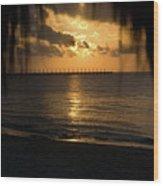 Caribbean Early Sunrise 5 Wood Print