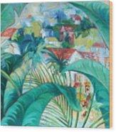 Caribbean Fantasy Wood Print
