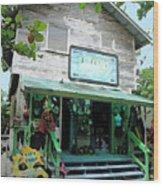Caribbean Gift Shop Wood Print