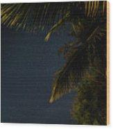 Caribbean Nights Anse Chastanet Wood Print