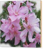 Caribbean Oleander Wood Print
