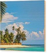 Caribbean Paradise Wood Print