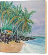 Caribbean Retreat Wood Print