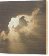 Caribbean Skies And Light 2 Wood Print
