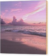 Caribbean Tranquility  Wood Print