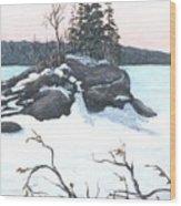 Carin Island Wood Print