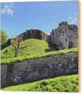 Carisbrooke Castle - Isle Of Wight Wood Print