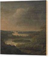 Carl Johan Fahlcrantz Wood Print