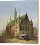 Carl Josef Wood Print