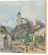 Carl Lafite Wood Print