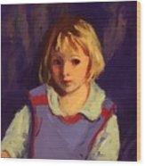Carl Schleicher 1921 Wood Print