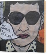 Carlos The Jackal Wood Print