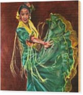 Carlota Wood Print
