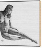Carlotta2 ORIGINAL ON SALE Wood Print