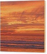 Carlsbad Beach Wood Print