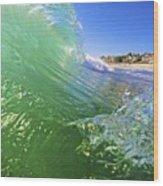 Carlsbad Wave 3 Wood Print