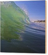 Carlsbad Wave 4 Wood Print