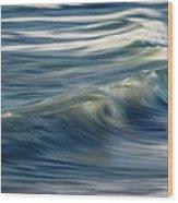 Ocean Wave Abstract Wood Print
