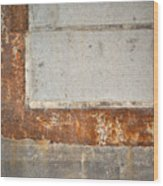 Carlton 14 - Abstract Concrete Wall Wood Print