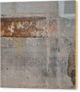 Carlton 16 Concrete Mortar And Rust Wood Print