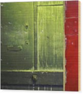 Carlton 6 - Firedoor Abstract Wood Print