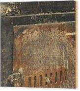 Carlton19 Wood Print
