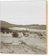 Carmel Beach, Carmel Point And Point Lobos Circa 1925 Wood Print