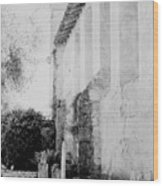 Carmel Mission Cemetery Wood Print