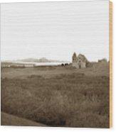 Carmel Mission Circa 1885 Wood Print