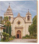 Carmel Mission San Carlos Borromeo Wood Print